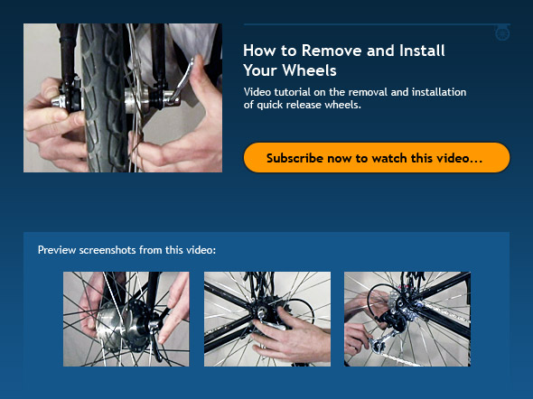 How to Remove and Install Your Wheels