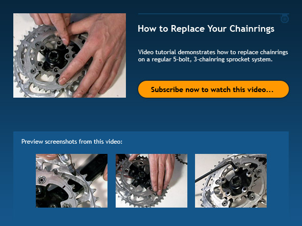How to Replace Your Chainrings