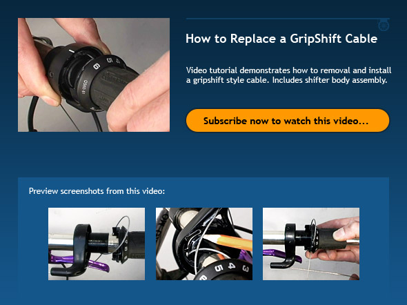 Bike Gear Shifter Repair How to Replace a GripShift