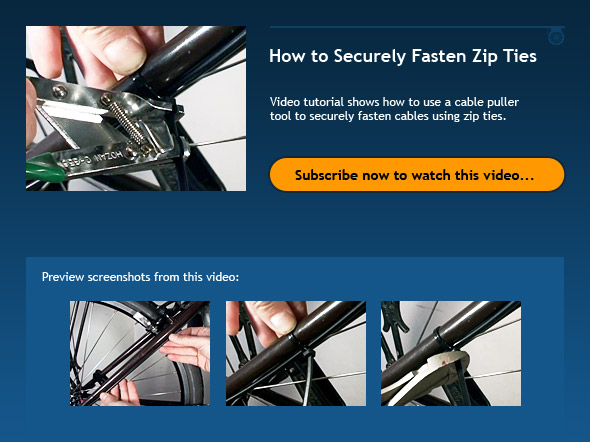 How to Securely Fasten Zip Ties