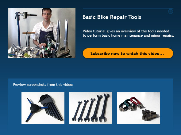 Basic Bike Repair Tools