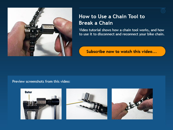 How to Use a Chain Tool To Break a Chain