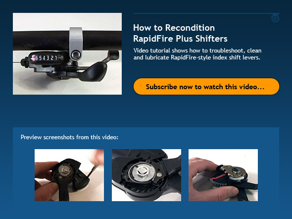 How to Recondition RapidFire Plus Shifters