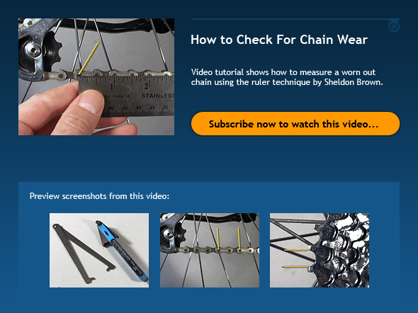 How to Check For Chain Wear