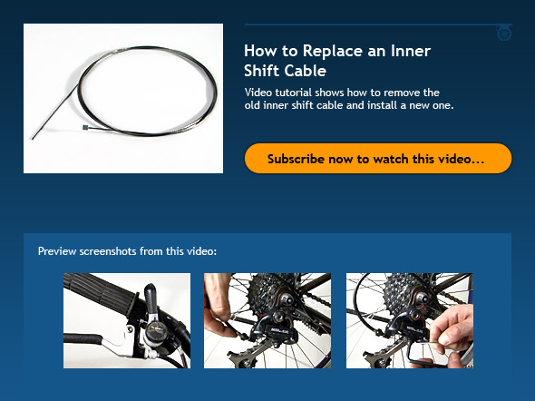 How to Replace an Inner Shift Cable