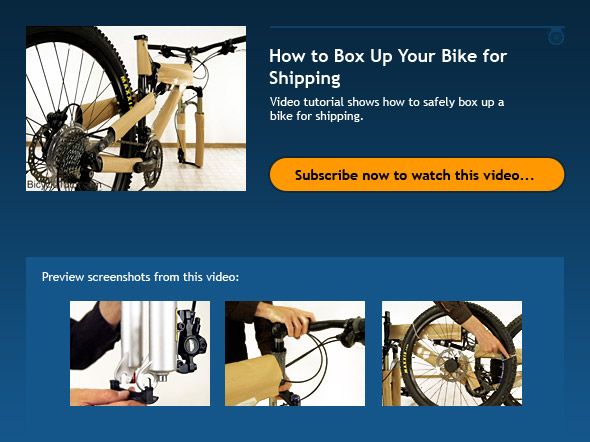 How to Box Up Your Bike for Shipping