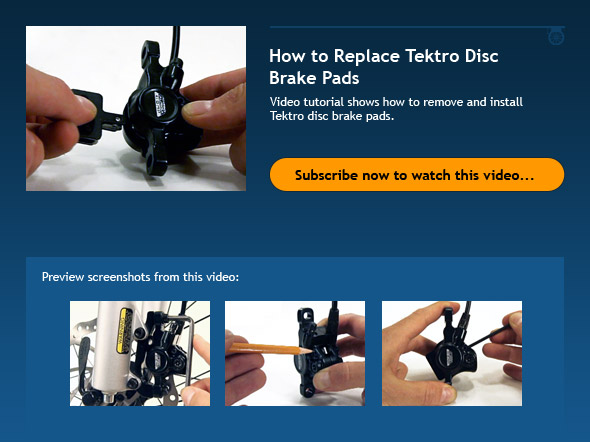 How to Replace Tektro Disc Brake Pads