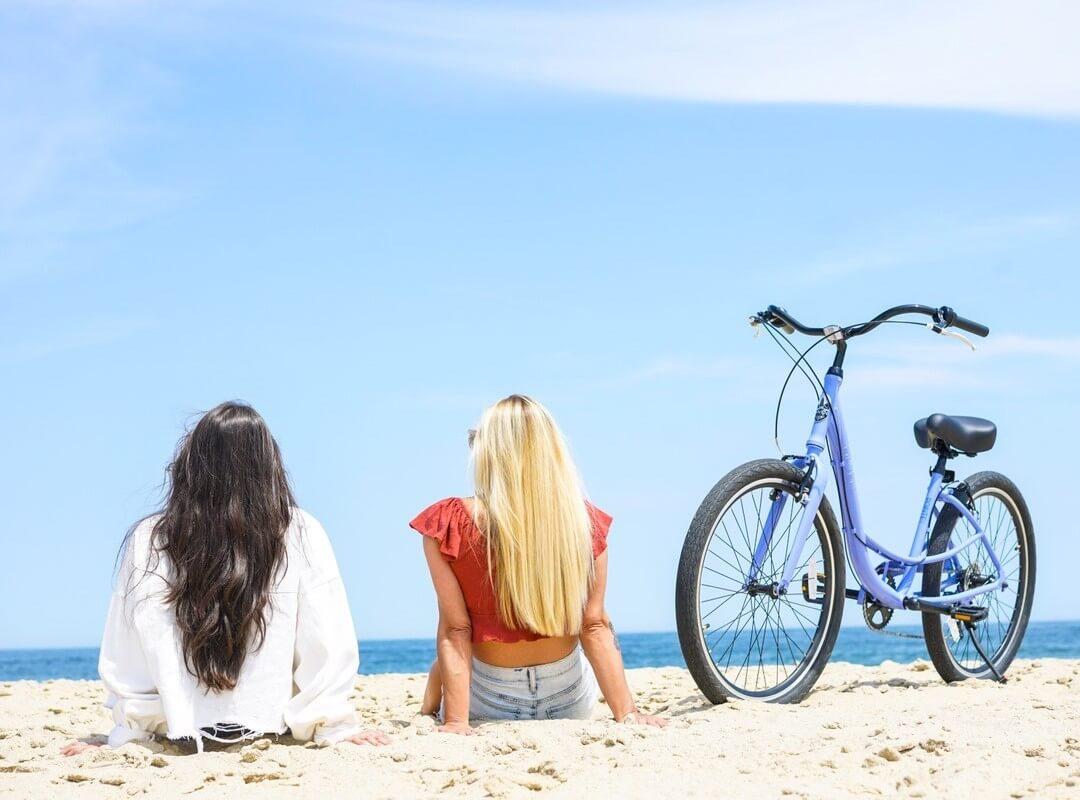 beach-cruiser-bicycle-break