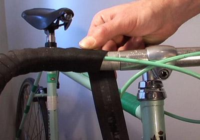 How To Tape Drop Handlebars Bicycle Tutor Video